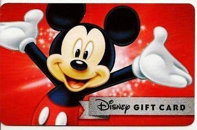 Walt Disney World/ Disneyland / Disney Store Gift Card $450