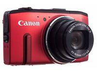 Canon PowerShot SX280 HS Digital WiFi Camera - Red, 12.1MP, 20x Optical Zoom