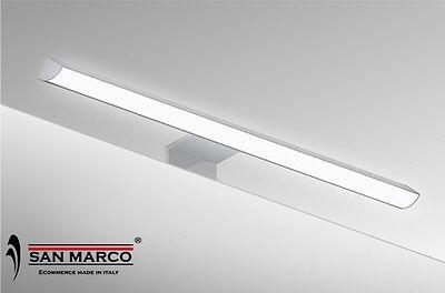 Faro faretto lampada per specchio luce a LED da 30 cm a muro o cornice