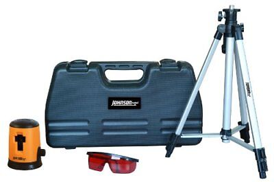 Johnson Level And Tool 40-0921 Self-leveling Cross Line Laser Level Kit