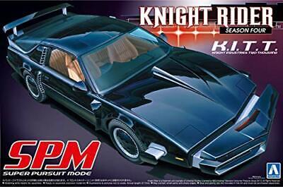 Aoshima 1/24 Knight Rider Knight2000 K.I.T.T. Mode-SPM (Model Car) NEW