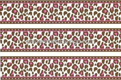 Pink Cheetah Print Cake Border Edible  Cake Border](Cheetah Print Cake)