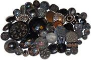 Antique Glass Buttons