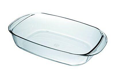Duralex Auflaufform Glas Backform Auflauf Lasagneform 38x23x7cm