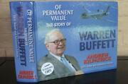 Warren Buffett Signed