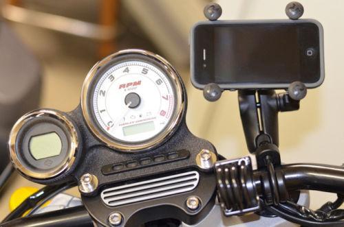 RAM-B-149Z-UN7U RAM Motorcycle Mount with Universal X-Grip SmartPhone Cradle