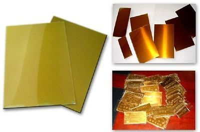 Intbuying A4 Photopolymer Plate 1 Sheet Heat Resistant 302-320f For Hot Stamping