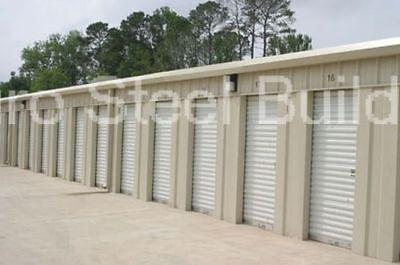Duro Steel 20x100x9.5 Metal Building Kits Mini Self Storage Structures Direct