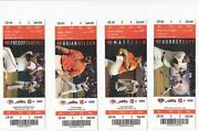 Cincinnati Reds Ticket Stubs