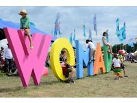 WOMAD BACKSTAGE/VIP Passes