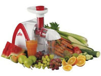 Team VitaMeister Easy Clean Slow Juicer with Vegetable Chopper Food Processor
