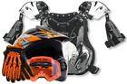 Orange Motorcycle Chest Protectors