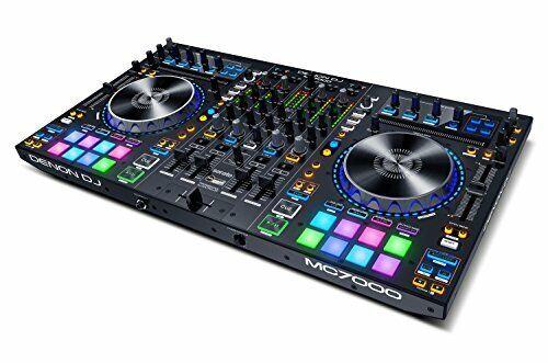 Denon DJ MC7000 4 Channel Professional DJ Controller w/ 16 Performance Pads