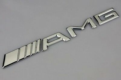 AMG Mercedes Benz Car Sticker NEW Chrome 3D Emblem Badge Decal USA Free Shipping
