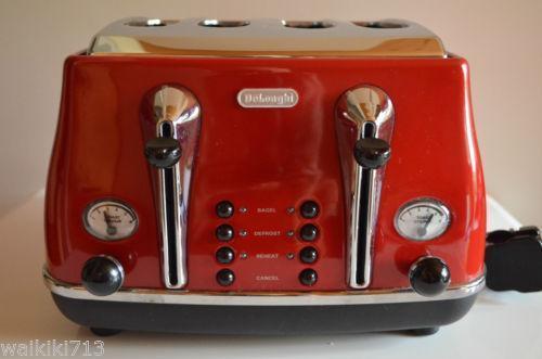 toaster 4 scheiben ebay. Black Bedroom Furniture Sets. Home Design Ideas