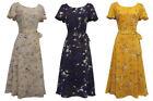 Floral Dresses 1930s Look