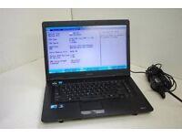 Toshiba TECRA I5 Laptop, , 2.0GHz, 4gb, 128 SSD, Windows 7, Webcam