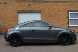 AUDI TT QUATTRO 3.2 DSG Automatic, Red Leather interior, Audi 19inch Black Alloys, Audi Satnav,