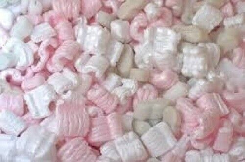 4 Cubic Cu Ft Mixed Loose Fill Shipping Packing Peanuts 30 Gallons