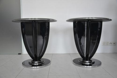 art deco beistelltisch ebay. Black Bedroom Furniture Sets. Home Design Ideas