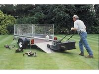 "NEW INDESPENSION 6'6"" x 4' GENERAL PURPOSE GALVANISED CAR TRAILER"