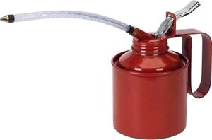 New Metal High Pressure Oil Can Gun Pump Grease Squirt Spout Tools $15.00 VALUE