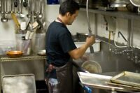 Full Time Dishwasher needed in Brampton