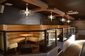 Bespoke Bench/Booth Seating for Restaurants, Clubs, Pubs, Salons, Hotels, Cafe