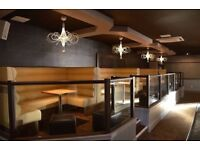 Bench Seating Booth Seating Bespoke Upholstery Restaurants Clubs Pubs Salons Hotels Cafe