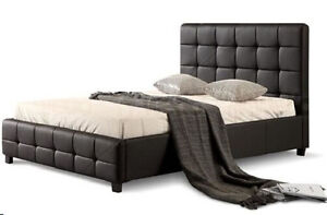 Button Tufted Headboard PU Leather Bed Frame from $249 Melbourne CBD Melbourne City Preview