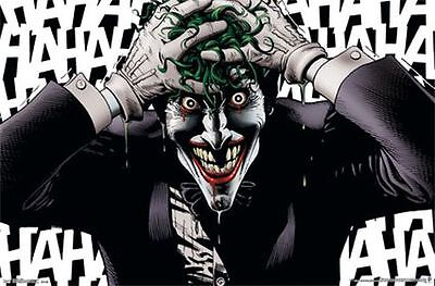JOKER - CRAZY COMIC POSTER - 22x34 BATMAN DC 13680 - Batman Poster