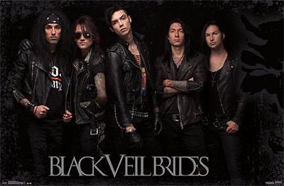BLACK VEIL BRIDES - GROUP MUSIC POSTER - 22x34 BAND 13838
