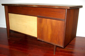 Mid-Century - Teak Desk  (Punch Design)