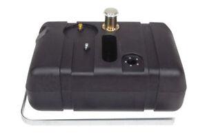 NEW! Street Rat Rod Universal Poly Fuel Gas Tank Ford 14 Gallon w/ 3