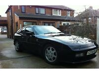 Porsche 944 turbo s black 1989