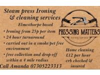 Leicester Ironing and cleaning services