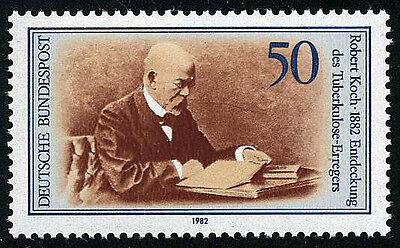 Germany 1370, MNH. Robert Koch, Discoverer of Tubercle Bacillus, 1982