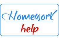 Got homework? We can do it!