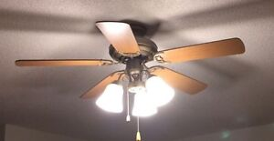 Ceiling fan - great condition