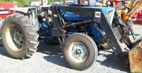 3600 Ford Tractor with loader