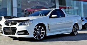 2015 Holden Ute VF MY15 SS V Ute White 6 Speed Manual Utility Ferntree Gully Knox Area Preview