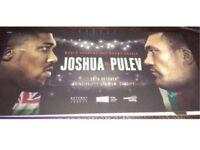 2x Anthony Joshua vs Carlos Takam tickets