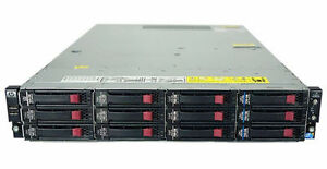 HP ProLiant DL180 G6 2xSix-Core 96GB RAM 2x450GB 15k 3.5'' SAS H