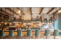 A great BBQ restaurant in Camden looking for a full/part time waiting and bar staff to join ASAP