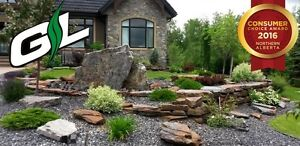 Natural Stone Installation - Grindstone Landscaping Inc.