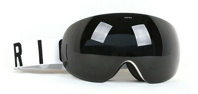 8655dc6351c NEW Electric EG3 White Jet Black Mens frameless ski snowboard goggles Ret  200