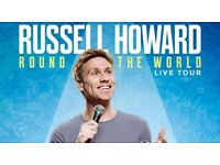 Russell Howard Tickets x 2