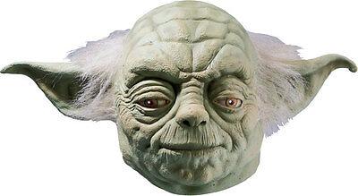 Yoda Mask Deluxe Adult Clone Wars Star Wars Full Overhead Latex - Fast Ship - (Yoda Masks)