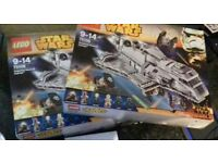2x lego star wars imperial assault carriers 75106 brand new unopened