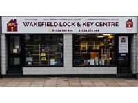 Emergency 24 Hour Locksmith Wakefield - uPVC Specialists - Wakefield Lock & Key Centre, Westgate End